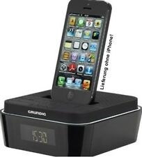 Grundig Sono Clock 935 iP DAB+ Radio Wecker Uhren iPhone 5 Wake up Light