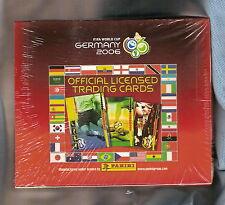 #TT. 2006 WORLD CUP SOCCER FOOTBALL  CARDS - UNOPENED BOX, PANINI