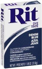 Rit All-Purpose Powder Dye, Denim Blue 1.13 oz (Pack of 9)