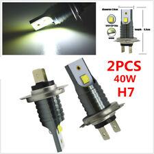 2PCS 40W 6000k White H7 CREE LED Bulb Canbus Car SUV Headlight FogLight Lamp 12V