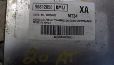 2006 06 CHEVROLET OPTRA AT ENGINE COMPUTER ECU ECM 96812058