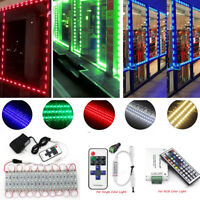 US 10FT 3 LED 5050 SMD Module Light Dressing Table Mirror Lamp LED+Power+Remote