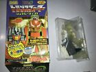 Takara Transformers Act 3  CLEAR IRONHIDE WITH  FORT MAX LEG CHASE PIECE ONLY