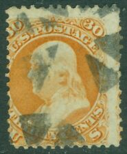EDW1949SELL : USA 1861 Scott #71 Used. Small faults. Catalog $190.00.