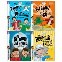 Read with Oxford: Stage 5: Biff, Chip and Kipper 4 Books Collection set Flying