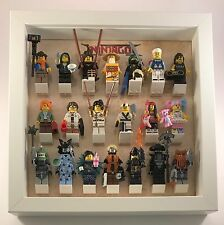 Lego Minifigure Display Case Frame for Lego Ninjago Movie Series Minifigs