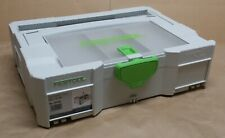 Festool Systainer T-LOC SYS 1 TL-DF with Attic Lid Compartment, 497851