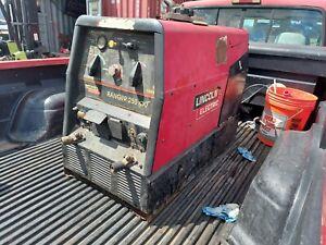 welding machine lincoln ranger 250