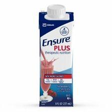 Ensure Plus Nutrition Shake Strawberry 8 oz Carton Abbott 64907 - Case Of 24