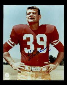 Hugh McElhenny Hand Signed 8x10 Photo Autograph San Francisco 49ers