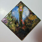 Abstract Guardian Angel Painting Magnet Original Art by Rain Crow