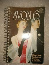 VINTAGE 1979 AVON 6 HANDBOOK AND PRICE GUIDE TO AVON BOTTLES BOOK