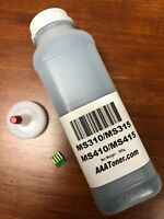 (200g) Toner Refill for Lexmark MS310 MS312 MS315dn MS410dn MS415dn + Chip (USA)