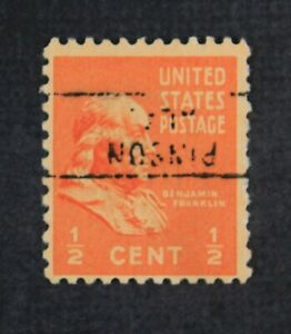 CKStamps: US Error EFO Freaky Stamps Collection Used Overprint Inverted