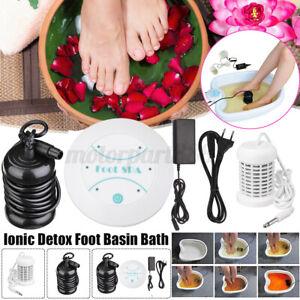 Foot Ionic Detox Bath Machine Spa Basin Health Care Home Cleanse Array Body Gift