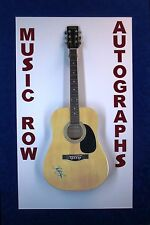 LORETTA LYNN Signed Autograph Acoustic Guitar Country Music Coal Miners Daughter