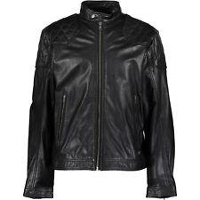 DIESEL -- L-ALETA -- Leather Bike Jacket XXL -- NEW WITH e96fc6ba751e