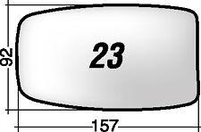 ALFA 33/75 PRIMA DEL 1990 23S RICAMBIO SPECCHIO RETROVISORE SINISTRO + BIADESIVO