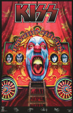 LOT OF 2 POSTERS : MUSIC: KISS - PSYCHO CIRCUS   -  FREE SHIP  #9025   RC44 D
