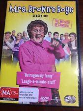 MRS BROWN'S BOYS Season One 2 DVDs VGC R2,4&5  PAL