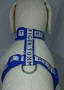 "New, bespoke Dog Harness choice of 27 free fabric designs.  10""-14"" neck."