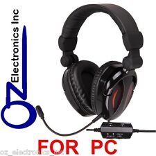 EXTRA BASS Gaming Headset for PC game sound & chat 2.1  Stereo BRAND NEW AUS