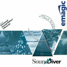 Emagic Sounddiver Soundiver 3.0.5 for Windows Librarian Editor - Delivered on Cd