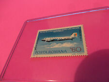 VINTAGE LOT OF 6 POSTAL STAMPS OF DIFFERENT AIRPLANES POSTA ROMANA VLASTO & MORE