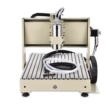 3 Axis 1500W CNC Router 6040 Engraver Milling 3D cutter 1.5KW Medal Woodworking