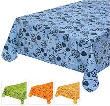 Tovaglia cucina cotone plastificato antimacchia bordata copri tavolo fiorito