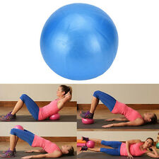 25cm Mini Yoga Ball Fitness Birthing Stability Balance Ball Home Pods Pilates PL