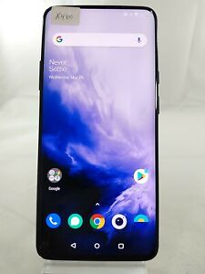 """OnePlus 7 Pro GM1915 256GB T-Mobile ONLY 6.6"""" Smartphone Cellphone Blue X460"""