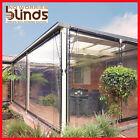 NEW! 210 x 240 Clear Bistro Cafe Blind PVC Patio Backyard Outdoor Verandah Cover