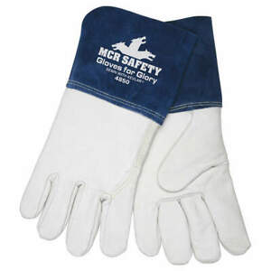 MCR SAFETY 4850XL Welding Gloves,MIG, TIG,XL/10,PR