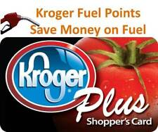 Kroger Fuel Points: 6000 points with 5/31/2021 expiration - fast E-delivery