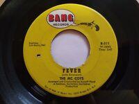 The McCoys - Fever & Sorrow Unplayed Original Press 45 RPM Bang 511 Record 1965