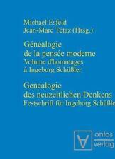 Genealogie des Neuzeitlichen Denkens / Généalogie de la Pensée Moderne :...