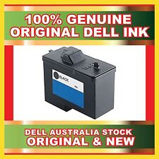 2 X New Dell Black Ink Cartridge For Dell A940 A960  7Y743 Series 2 Genuine