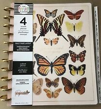 New The Happy Planner Papillon Butterfly Big Undated 4 Month Daily Planner