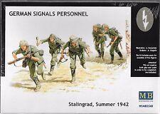 1/35 Maste Box 3540 German Signals Personnel, Stalingrad, Summer 1942 5 Fig Kit