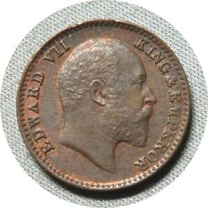 elf India British 1/12 Anna (1 Pie) 1903  Edward VII