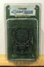 Juego de tronos Game of thrones Carta Resina Casa House BARATHEON