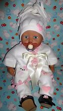 "New Hello Kitty cat dolls outfit clothes baby girl annabell chou reborn 19"" 20"""