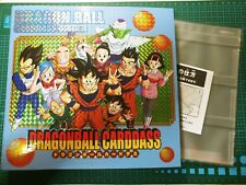 DRAGON BALL Z CARDDASS PART 37 + 38 DISPLAY PRISM CARD HOLDER BOOK