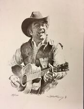 LIMITED EDITION SIGNED WESTERN COWBOY ART LITHOGRAPH BY ROBERT SHOOFLY SHUFELT