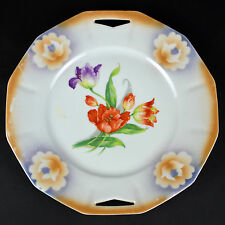 Vintage Tulip Flower Dinner Plate Pattern Dish Dinnerware German Made in Germany