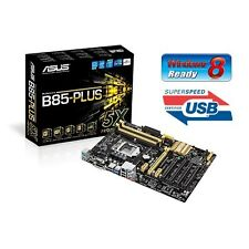 INTEL I7 4770K QUAD CORE UNLOCKED CPU ASUS B85 ATX MOTHERBOARD COMBO KIT