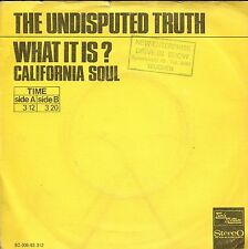 7inch THE UNDISPUTED TRUTH what is HOLLAND +PS   TAMLA MOTOWN