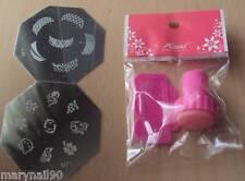 TIMBRO nail art stamping kit NAIL ART PRINT GEL UNGHIE