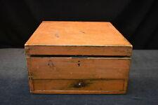 Primitive Grain Painted Dove-Tailed Box